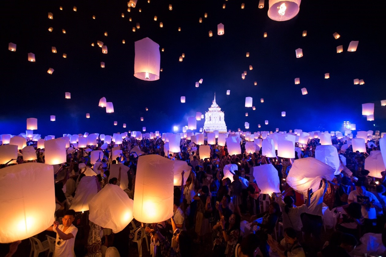 CHIANG MAI COUNTDOWN LANTERN FESTIVAL BY CAD 2019